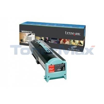 LEXMARK W850 TONER CARTRIDGE BLACK
